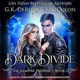 Dark Divide audiobook cover art