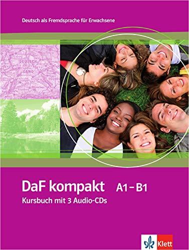 Daf Kompakt: Kursbuch MIT 3 Audio-Cds [Lingua tedesca]