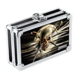 Vaultz Locking Supply Box 5.5'x8.25'x2.5', 3D Pirate Skull)