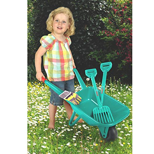 Theo Klein 2752 – BOSCH Gartenset mit Schubkarre, 4-teilig, Spielzeug - 4