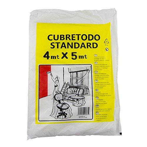 PLASTICO CUBLETODO STANDARD DE 4 mt. X 5 mt.