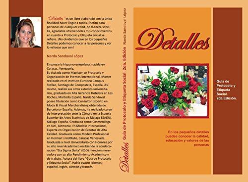 """Detalles"": Guia de Protocolo y Etiqueta Social. 2da. edicion."
