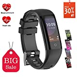 Fitness Tracker, Orologio Fitness Activity Tracker Fitness Bracciale Impermeabile IP67...