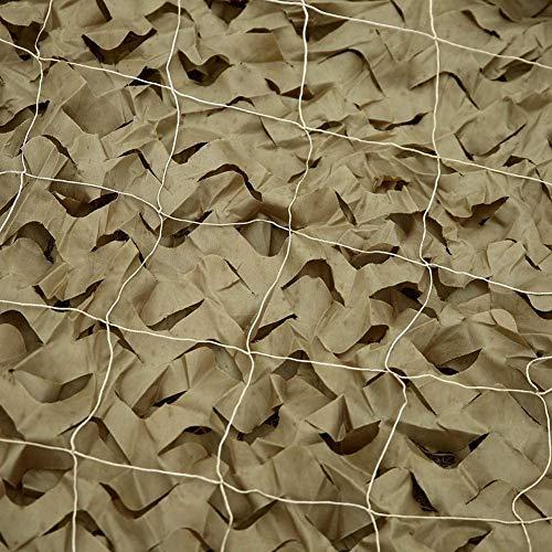 KEANCH Red de Camuflaje para Coche Protección, Camo Red Shuting Net Cocidos Alteriores, Tela Oxford Shading Net Camuflage Red, Fotografía Decoración del Jardín(Size:2 x 5m,Color:A)