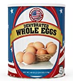 Fresh and Honest Foods Dehydrated Whole Eggs 40 OZ #10 Can (94 Servings). Up to 10+ Years Shelf...