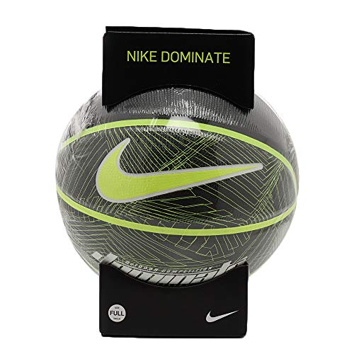 Nike Dominate 8P Full Size Basketball (Black/Volt)