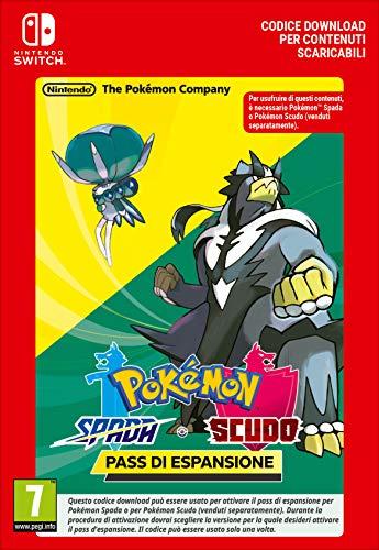 Pokémon Spada o Pokémon Scudo - Pass di espansione | Nintendo Switch - Codice download, 7 anni+