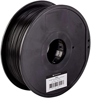 Monoprice PLA Plus+ Premium 3D Filament - Black - 1kg Spool, 1.75mm Thick | Biodegradable | Same Strength As Standard ABS | For All PLA Compatible Printers