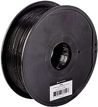Monoprice PLA Plus+ Premium 3D Filament - Black - 1kg Spool, 1.75mm Thick | Biodegradable | Same Strength As Standard ABS | For All PLA Compatible Printers