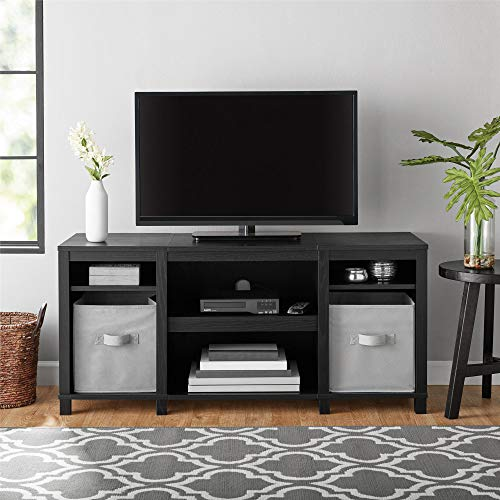 """Mainstays Parsons Cubby TV Stand, for TVs up to 50"""", Multiple Finishes"""
