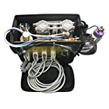 Portable- Unit with Air -Compressor -Suction -System [3 WAY] (Black)