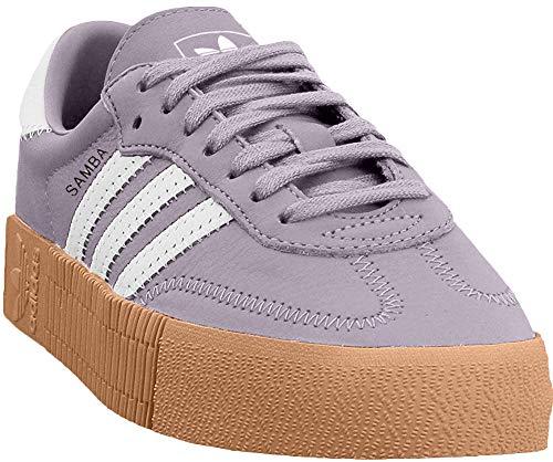 Adidas Womens Sambarose Leather Trainers