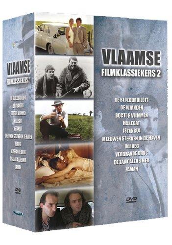 Flemish Film Classics Collection (Box 2) - 10-DVD Box Set ( De vijanden / Istanbul / Meeuwen sterven in de haven / Oeroeg / Verbrande brug / De zaak [ NON-USA FORMAT, PAL, Reg.0 Import - Netherlands ]