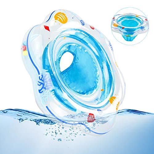 PINPOXE Baby Schwimmring, Baby Schwimmhilfen, Baby Schwimmsitz, Baby Schwimmen Ring, aufblasbare Schwimmen Float mit Schwimmsitz für Kleinkind Schwimmhilfe Spielzeug 6 Monate bis 36 Monate