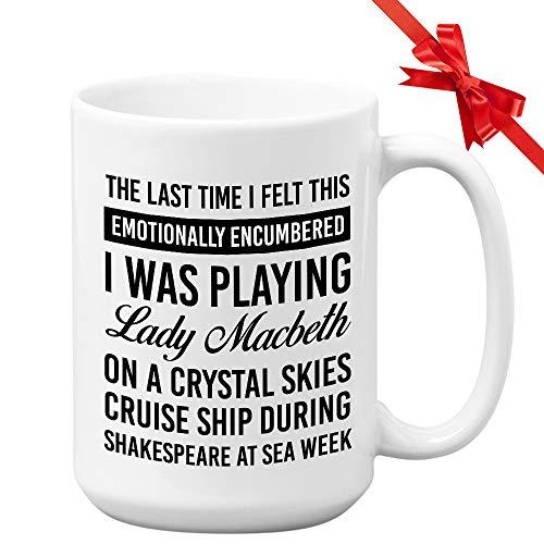 Schitts Creek Coffee Mug Last Time I Felt 15oz David Rose TV Sitcom Comedy Mug