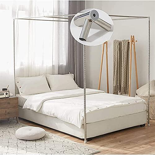 Vier Hoek Bed Ondersteuning Klamboe, Bed Cover, Luifel Frame Roestvrijstalen Luifel Klamboe, Enkele/Tweepersoons Bed Frame