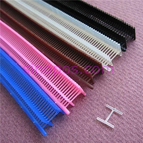 Pukido [FINE] Colored Nylon T-end Fasteners for Tagging Gun, Gar