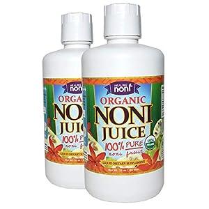 Certified Organic Hawaiian Noni Juice - 2 X 32 Ounce |