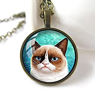 Best grumpy cat necklace Reviews