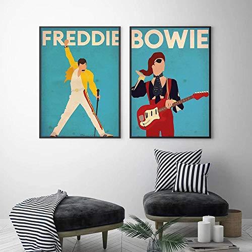 Cuadro Freddie Mercury  marca ULOVEH