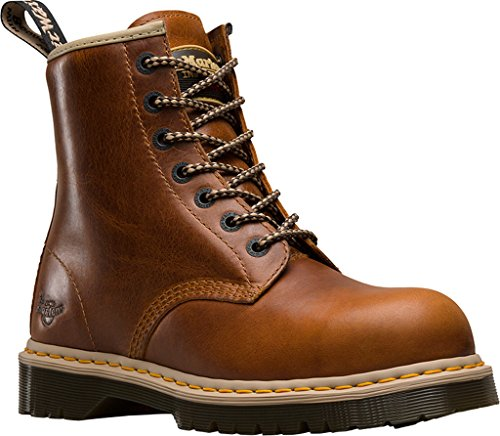 Dr. Martens Icon 7B10 Safety Boot Tan Size UK 5 EU 38