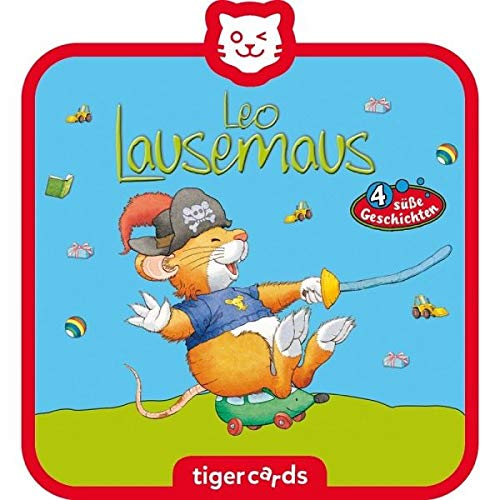Tigerbox 4145 tigercard-Leo Lausemaus-Folge 10: Will Nicht draußen Spielen und 3 weitere süße Geschichten