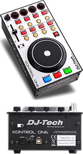 DJ-Tech Kontrol One USB MIDI DJ Package