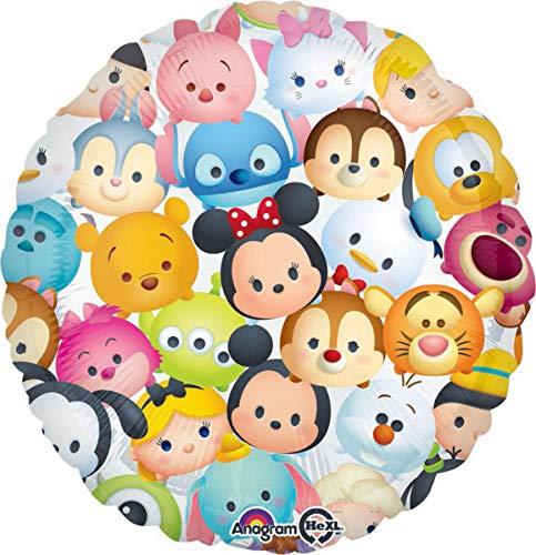 Amscan 3413901 Disney Ballon rond en aluminium Tsum