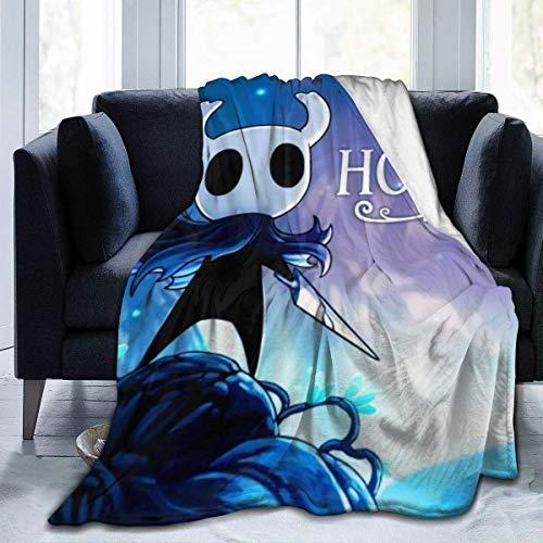 Hollow Knight Decke - Manta de tiro ultra suave para cama, forro polar de franela para todas las estaciones, peso ligero, sala de estar / dormitorio, manta c¨¢lida para ni?os, adolescentes, adultos, 8