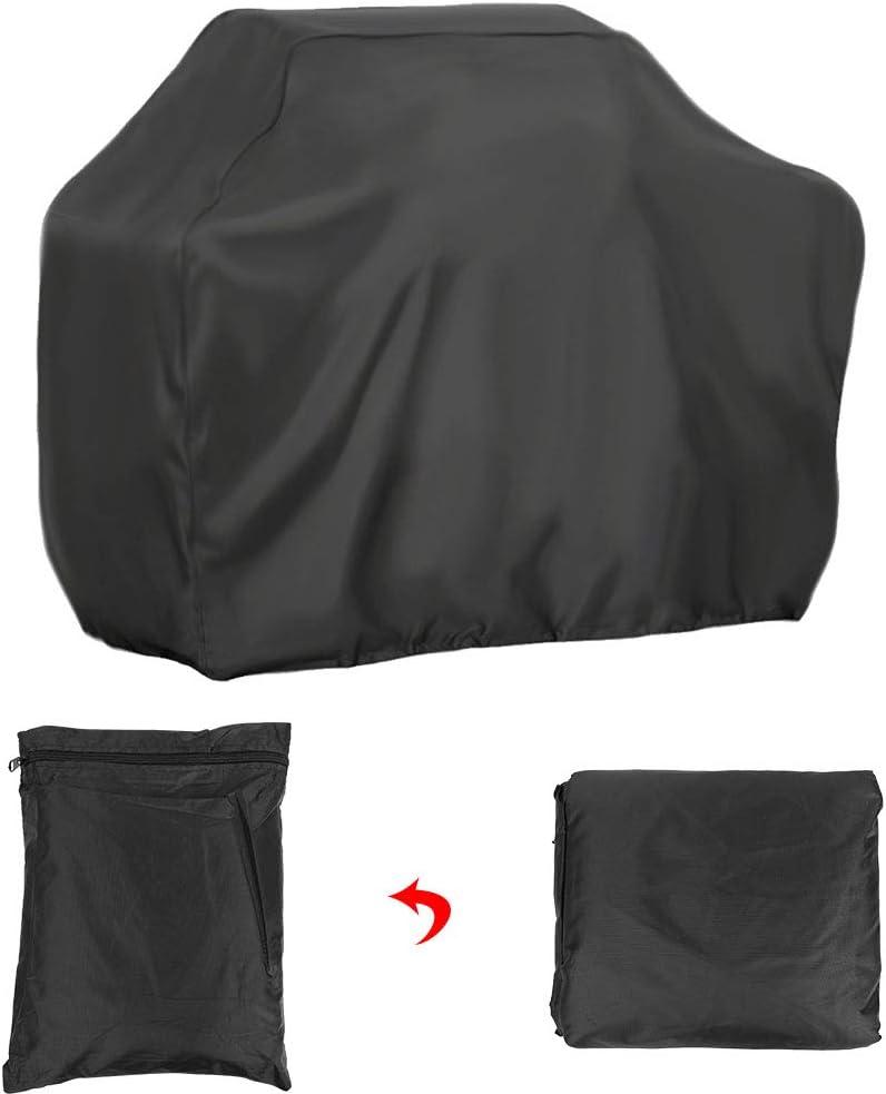 SOONHUA Housse de Barbecue Tissu Oxford Robuste Extérieur Imperméable à l'eau Et à La Poussière Et Anti-UV Housse de Barbecue Extérieur pour Jardin (58X77) 145x61x117)