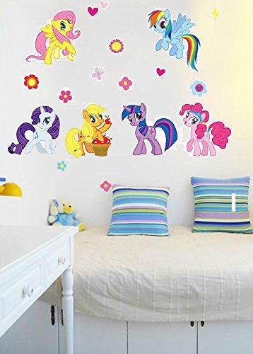 My Little Pony Kinder Schlafzimmer Wandtattoo Kunst Aufkleber abnehmbare Wandbild DIY Decor... HOT. 2016nur von My