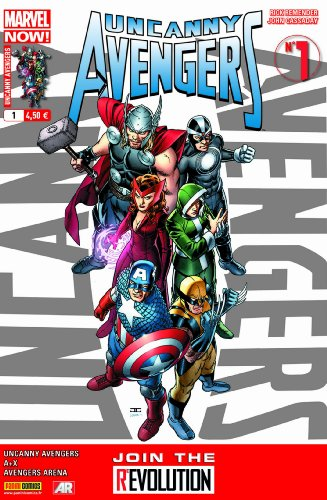 Uncanny Avengers 01 Couv1/2 Cassaday