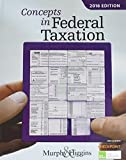 """Concepts in Federal Taxation 2016 (with H&R Block""""¢ Tax Preparation Software CD-ROM and RIA Checkpoint Printed Access Card)"""