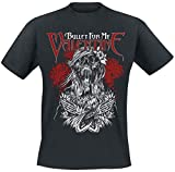Bullet For My Valentine Bats Attack Camiseta Negro M