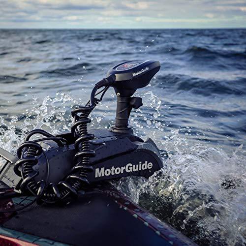 MotorGuide 940800211 Xi5 Wireless Freshwater Bow Mount Trolling Motor — 48-inch Shaft, 55-Pound Peak Thrust — Sonar & GPS