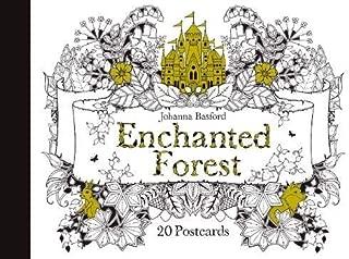 Enchanted Forest: 20 Postcards by Johanna Basford (2015-07-13)