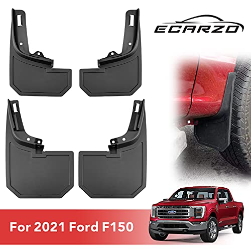 Mud Flaps Fit for 2021 Ford F150, All Weather Guard Mud Guards Splash Front Rear...