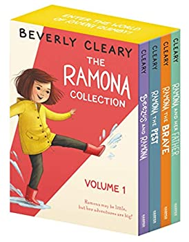 Paperback The Ramona Collection, Vol. 1: Beezus and Ramona / Ramona the Pest / Ramona the Brave / Ramona and Her Father [4 Book Box set] Book