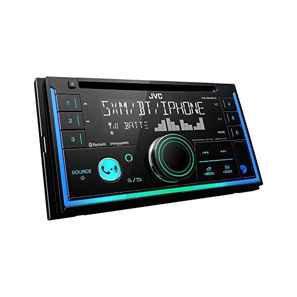 JVC KWR940 / KWR940BTS / KWR940BTS Double DIN CD Receiver with Bluetooth 6