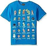 WFQTT Camiseta para chico Pixel 9 Cast Graphic de dibujos animados Mario Sonic Sport 3D de estilo Harajuku Mario Bros Ropa para niños, Niño pequeño, medium
