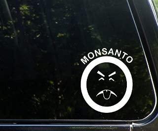 Monsanto - Mr. Yuk - Die Cut Decal For Windows, Cars, Trucks, Laptops, Etc.