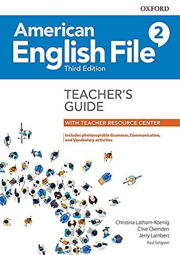 American English File 2 Teachers Book Pk - 03Edition