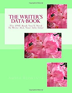 The Writer's Data-Book (Mint): The One Book You'll Need to Write All Your Info Into!