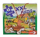 Noris 606031565 XXL - Puzzle Gigante (45 Piezas, tamaño Total: 64 x 44 cm), para niños a Partir de 3 años