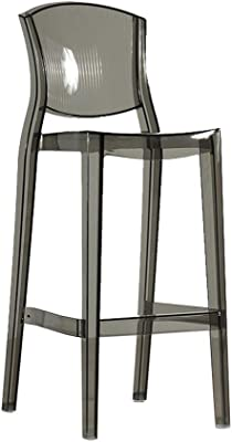 Incredible Amazon Com Ikea Bar Stool With Backrest Black Silver Gmtry Best Dining Table And Chair Ideas Images Gmtryco