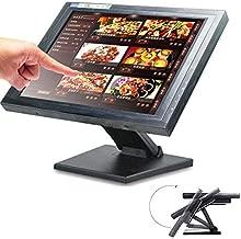 15 Pulgadas Pantalla Táctil LCD, Monitor Tactil para Restaurante Bar Minorista Efectivo, Monitores de Pantalla Táctil VGA POS