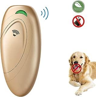 EllySily Ultrasonic Barking Control, Dog bark Control, Bark Trainer, Anti Barking Device, Handheld ultrasonic Dog bark Deterrent with Wrist Strap,No bark Devices,Barking Dog Deterrent,Bark Controller