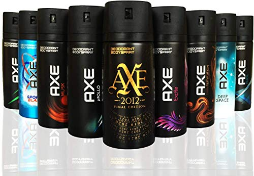 AXE Body Spray MIX within available kind ( Pack of 6)(6X 150...