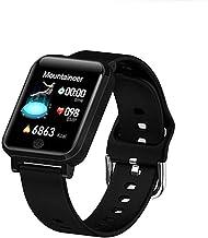 Smart Watch met hartslagmeter activiteit, fitnessband met lichaamstemperatuur, slaapmonitor, stappenteller, smartwatch, ca...