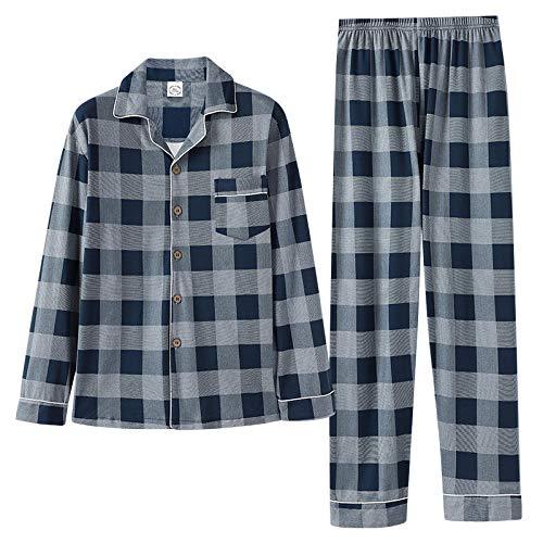 Damen Pyjama Schlafanzug langarm mit Bündchen und tollem Alloverdruck 61563